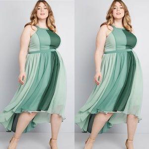 Modcloth Peachy Queen Maxi Dress